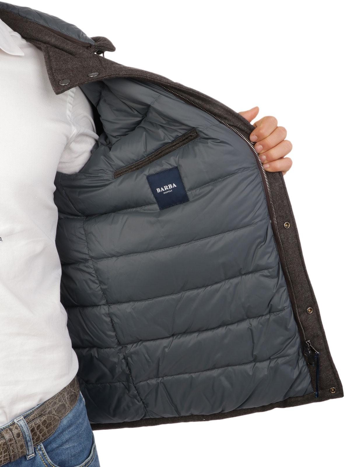 Picture of BARBA | Men's Nari Wool Padded Jacket