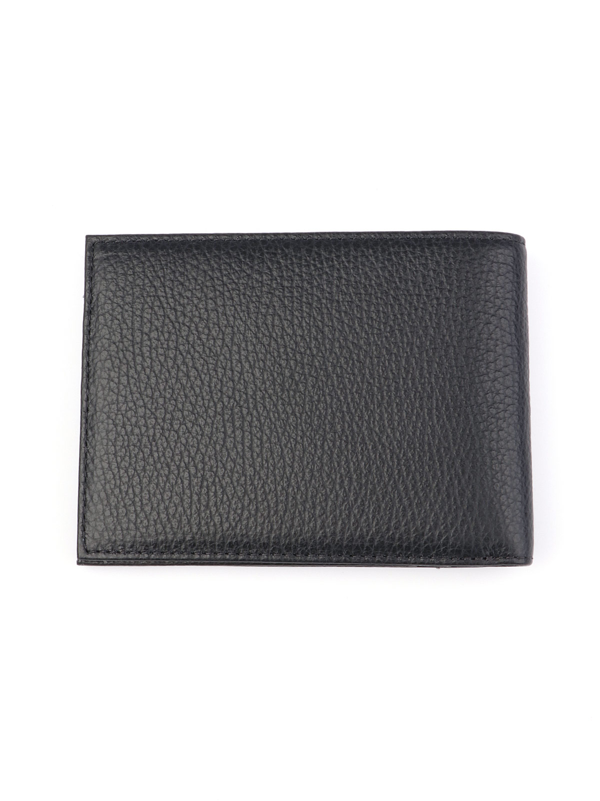 Picture of EMPORIO ARMANI   Men's Tumbled Leather Bi Fold Wallet