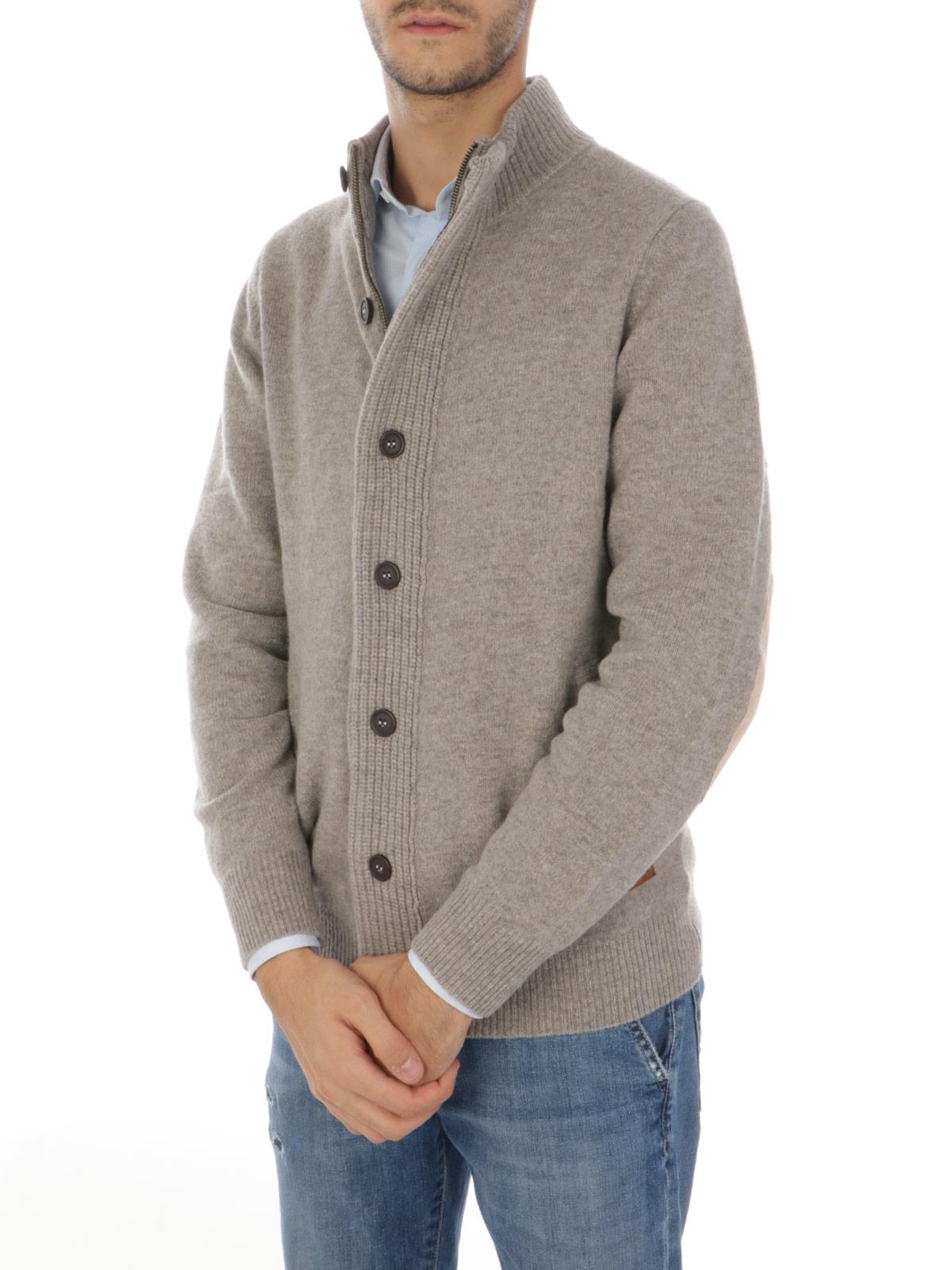 Picture of BARBOUR | Men's Wool Zip Cardigan