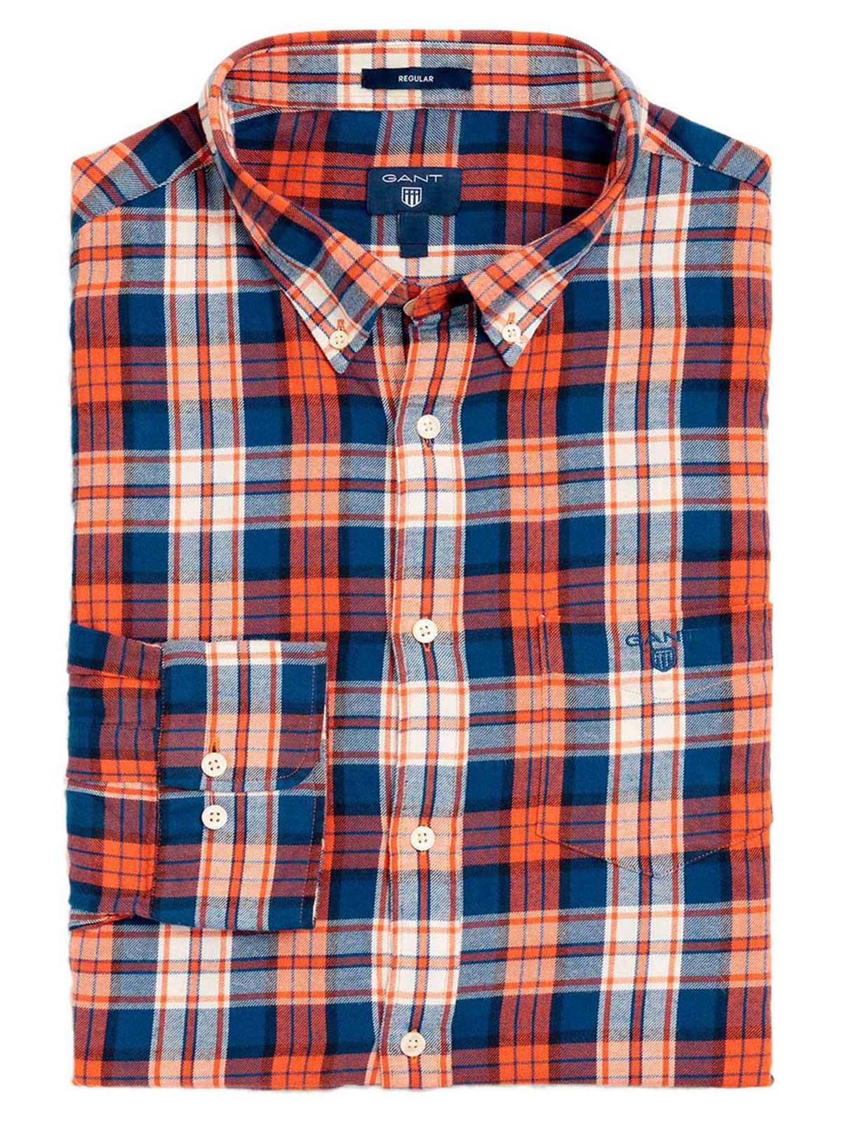 Picture of GANT | Men's Plaid Shirt