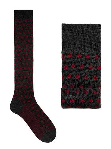 Picture of GALLO | Men's Wool Pattern Long Socks