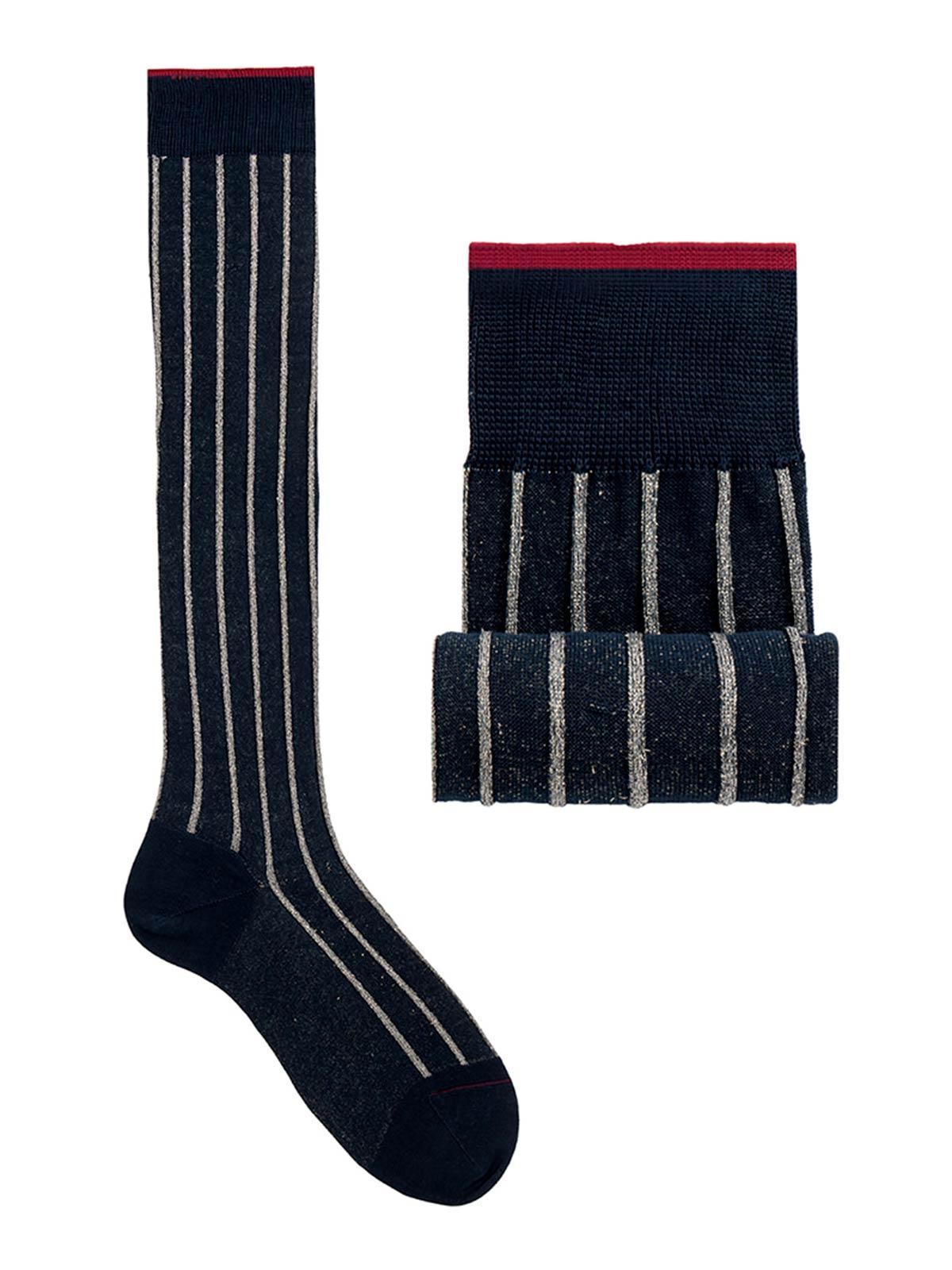 Picture of GALLO | Men's Twin Rib Cotton Long Socks