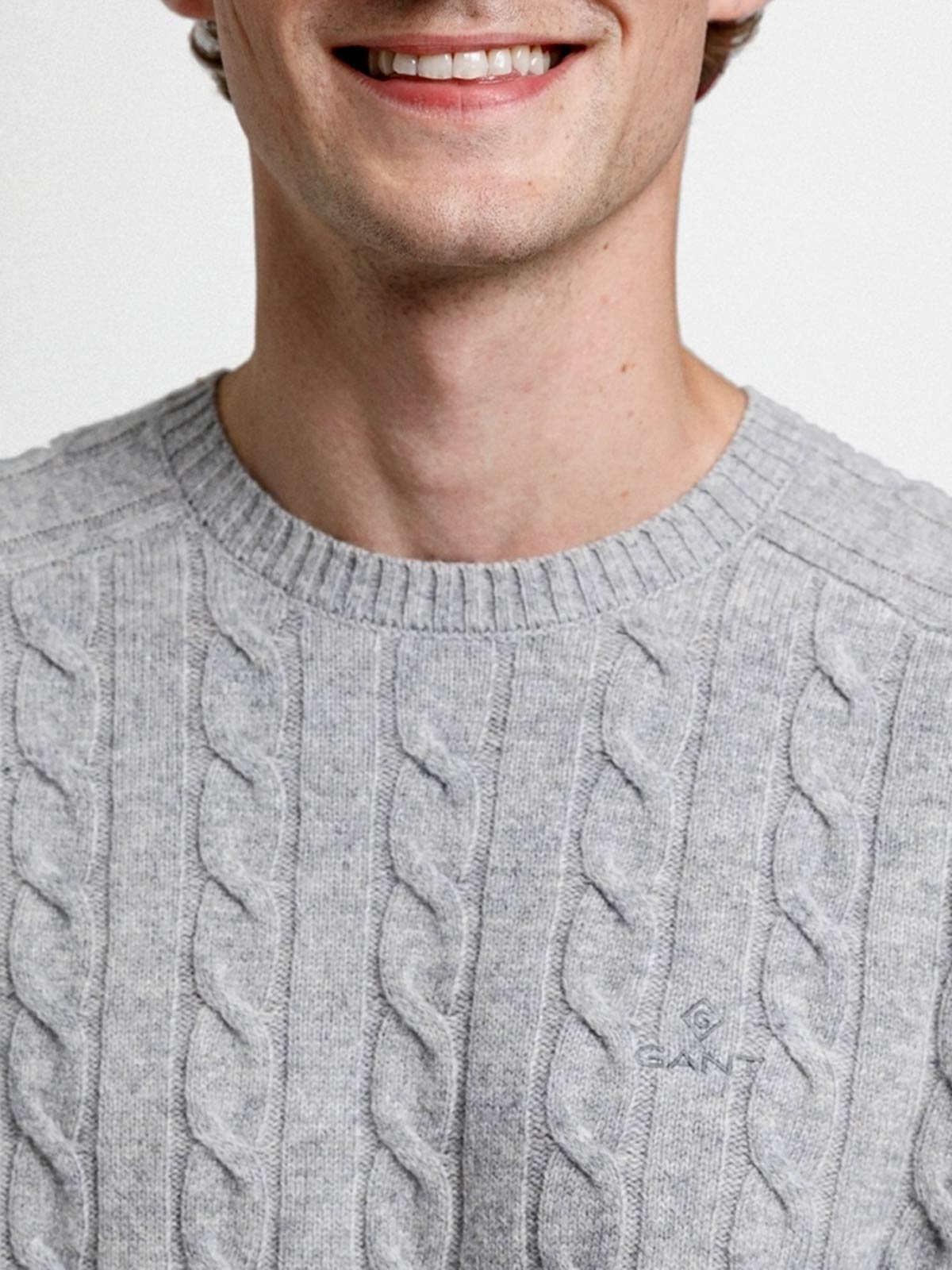 Immagine di Gant | Jersey D2. Lambswool Cable Crew