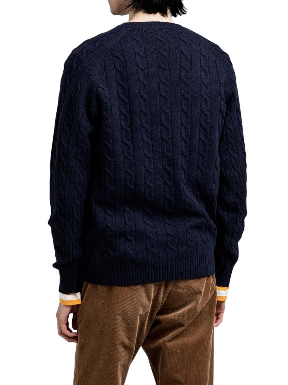 Picture of Gant | Jersey D2. Lambswool Cable Crew
