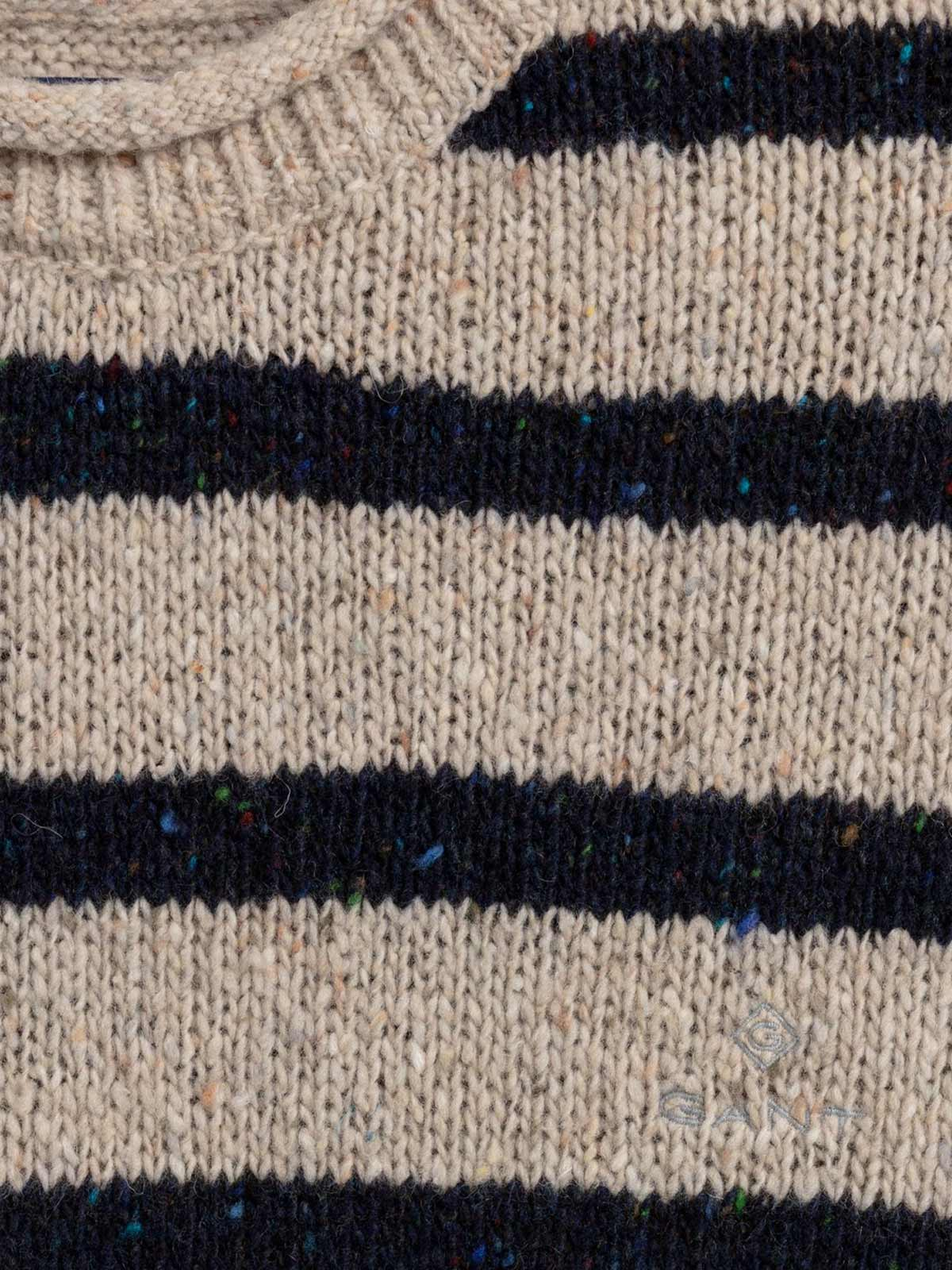 Immagine di Gant   Jersey D2. Breton Stripe Neps Crew