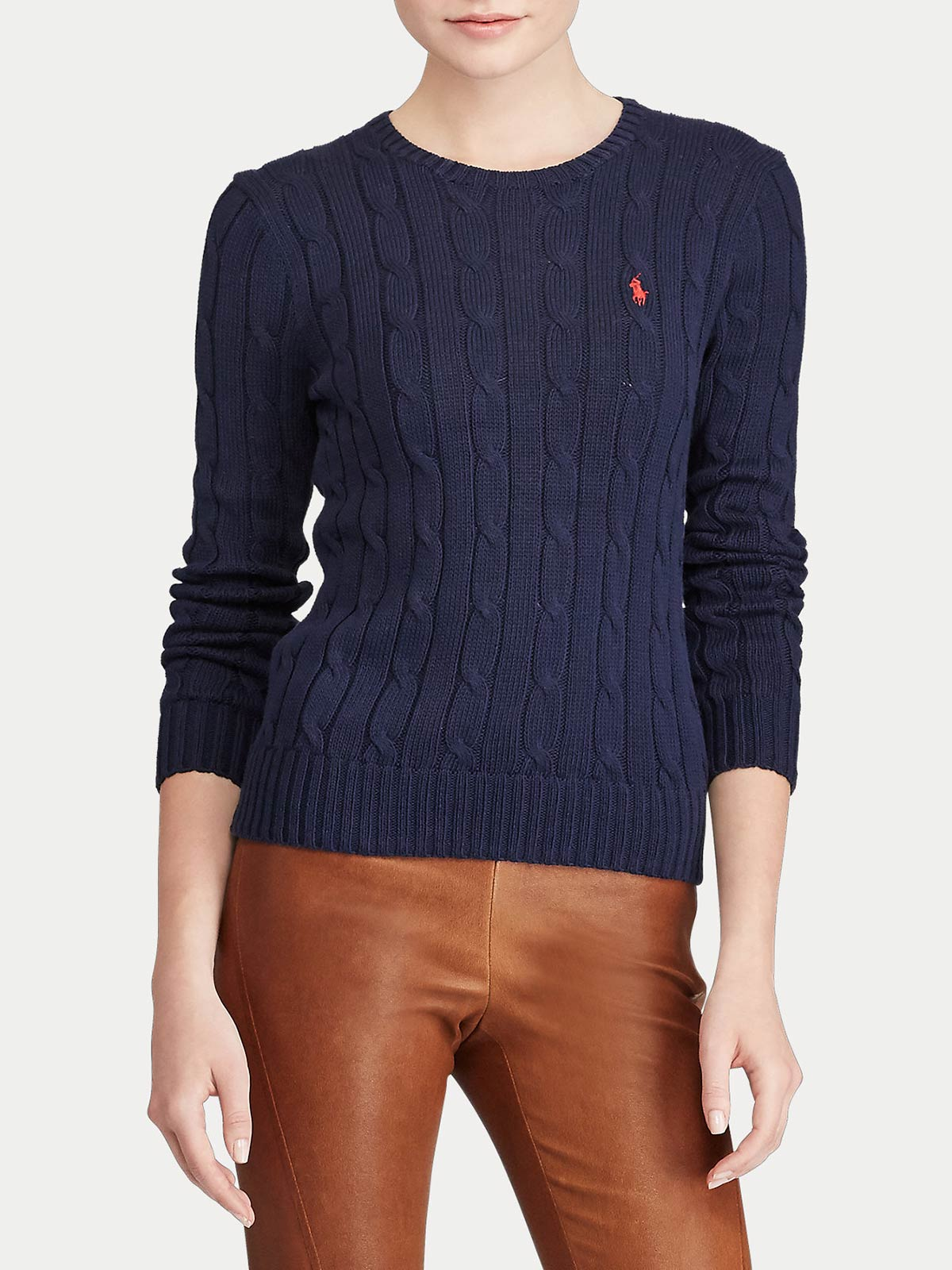 Picture of POLO RALPH LAUREN | Women's Cable-Knit Jumper