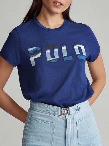 Immagine di POLO RALPH LAUREN | T-shirt Donna Polo con Perline
