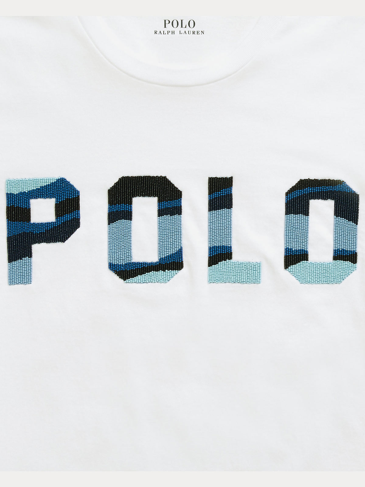 Immagine di POLO RALPH LAUREN | T-shirt Donna Polo con Perline