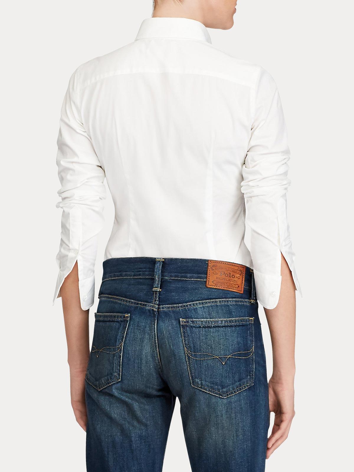 Picture of POLO RALPH LAUREN | Women's Slim Fit Poplin Shirt