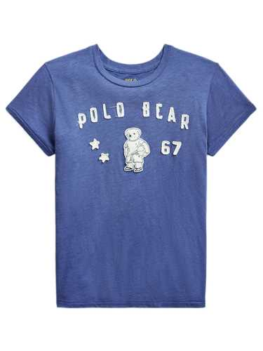 Picture of POLO RALPH LAUREN | Women's T-shirt with Embossed Polo Bear
