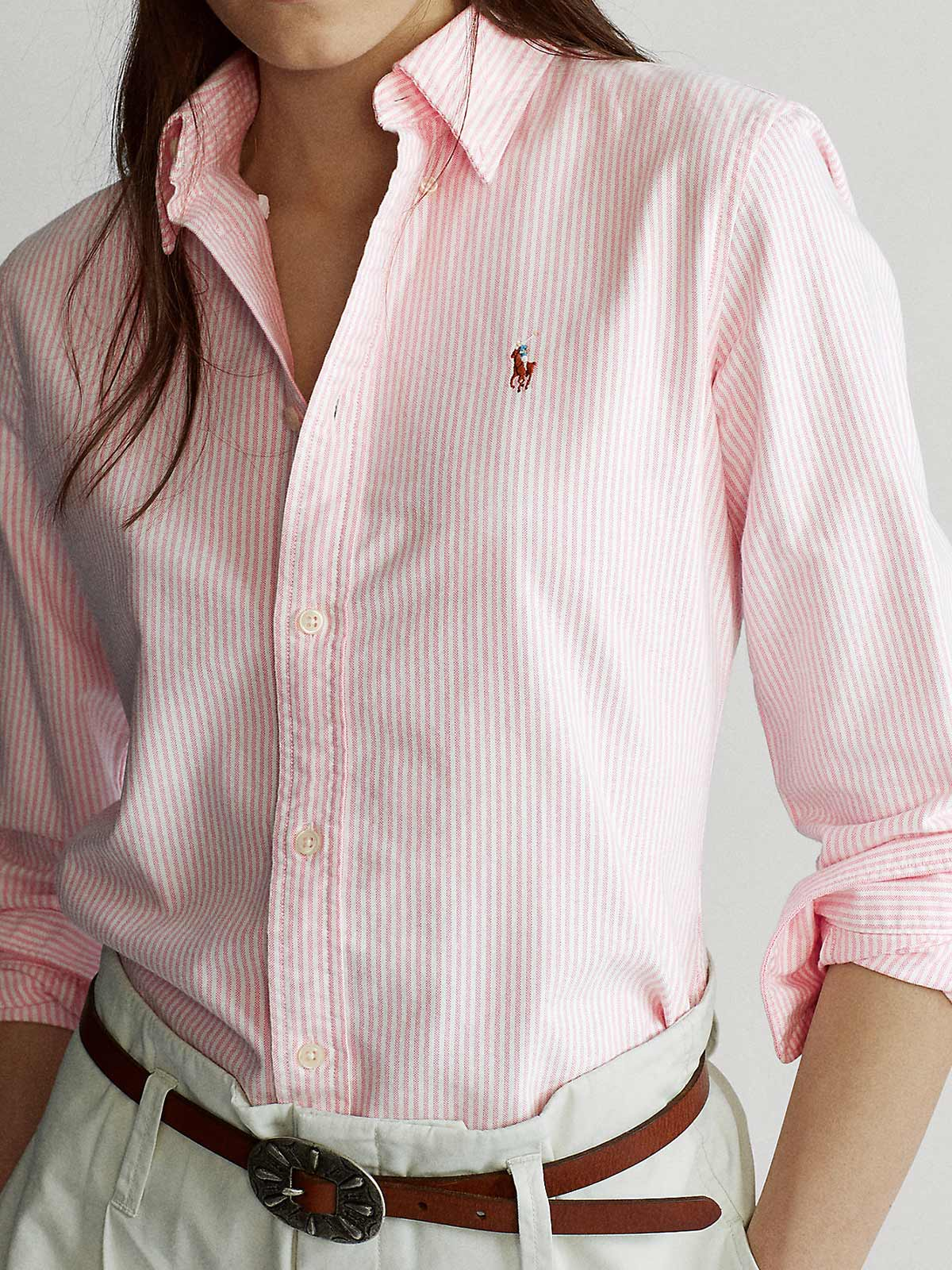 Picture of POLO RALPH LAUREN | Women's Slim Fit Oxford Shirt