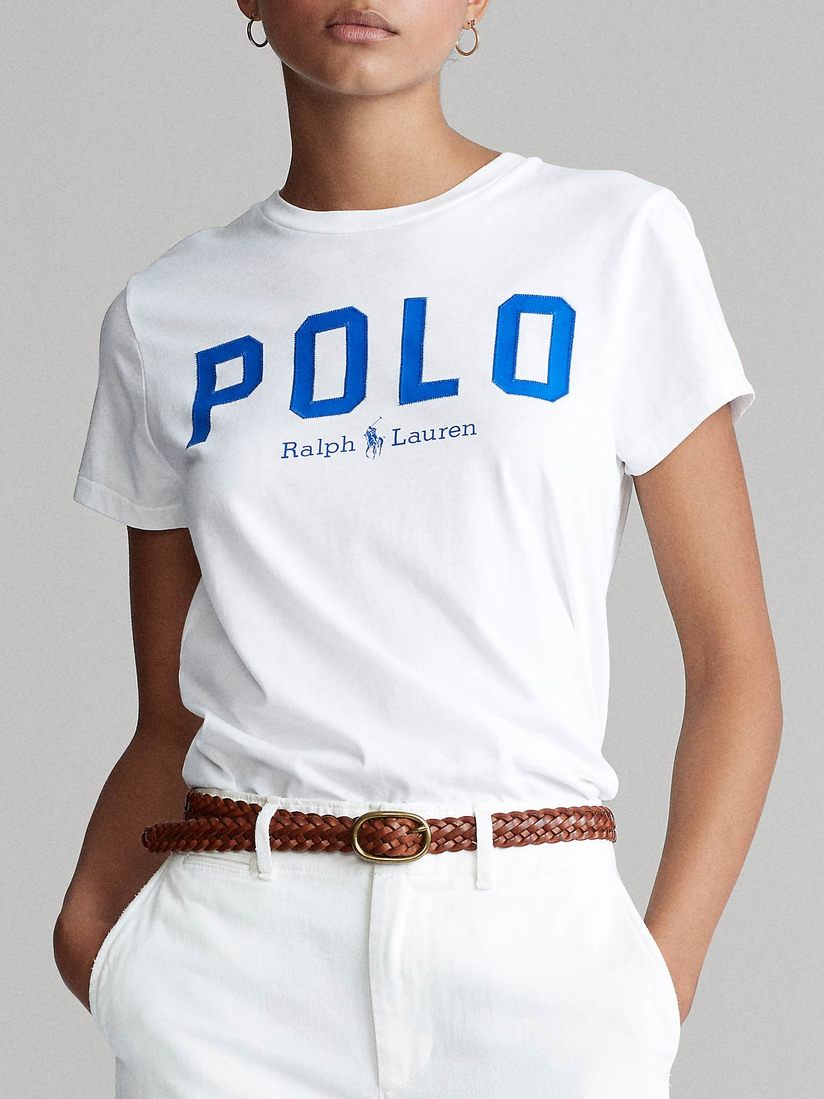 Picture of POLO RALPH LAUREN | Women's Polo Cotton T-shirt