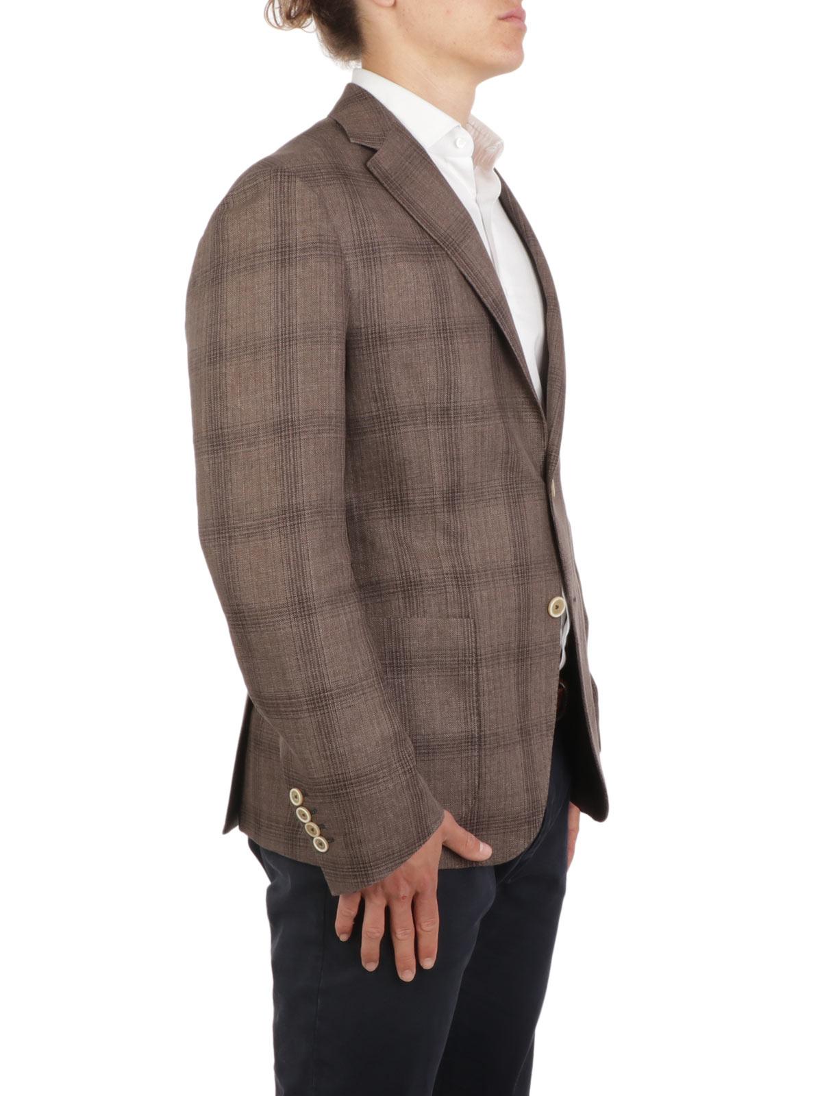 Picture of ELEVENTY | Men's Cotton and Linen Blazer