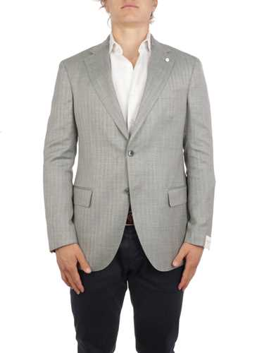 Picture of LUIGI BIANCHI MANTOVA | Men's Wool and Silk Blazer