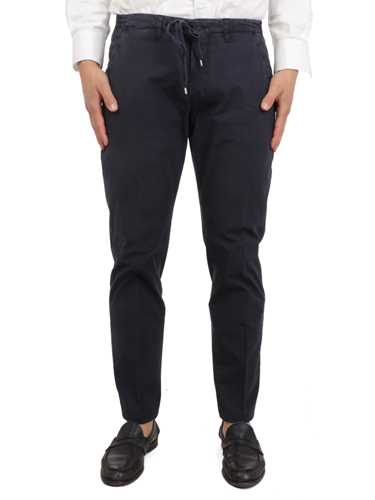 Picture of BRIGLIA 1949 | Men's Drawstring Cotton Trousers