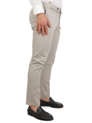 Picture of BRIGLIA 1949 | Men's Striped Cotton Trousers