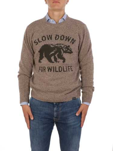 Picture of BROOKSFIELD | Men's Wildlife Knitted Sweater