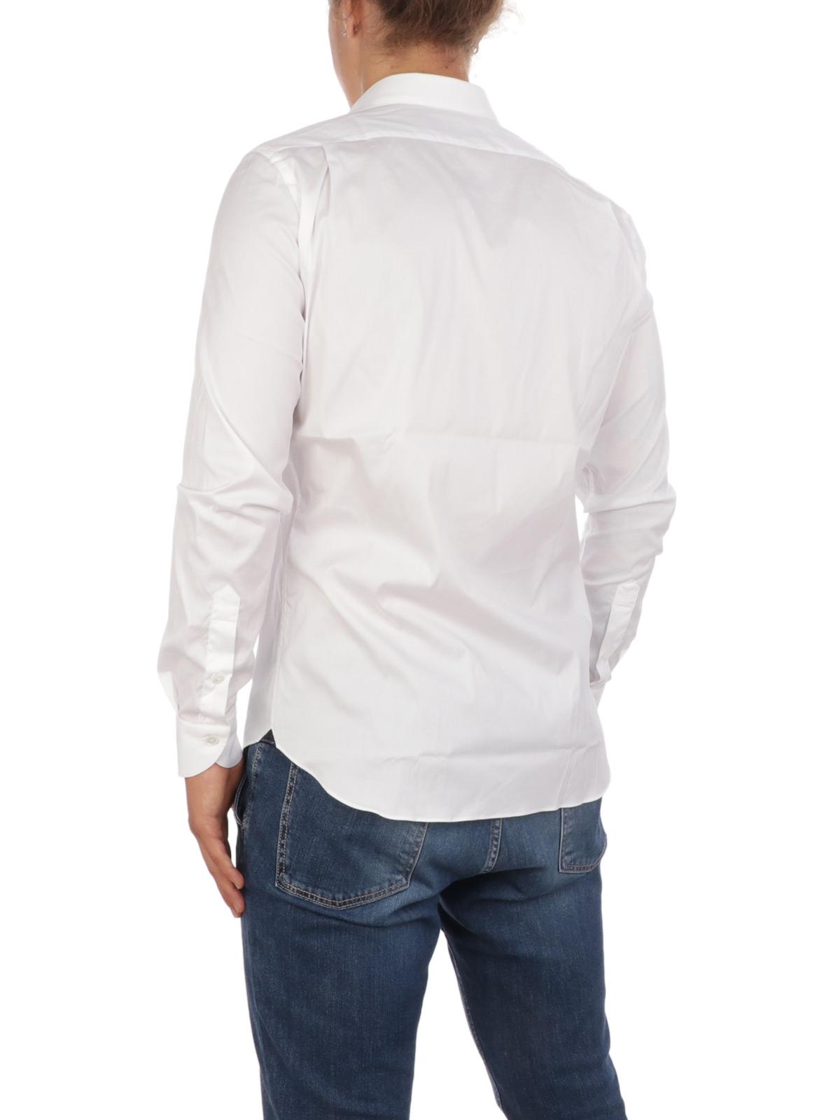 Picture of AQUASCUTUM | Men's Stretch Cotton Shirt