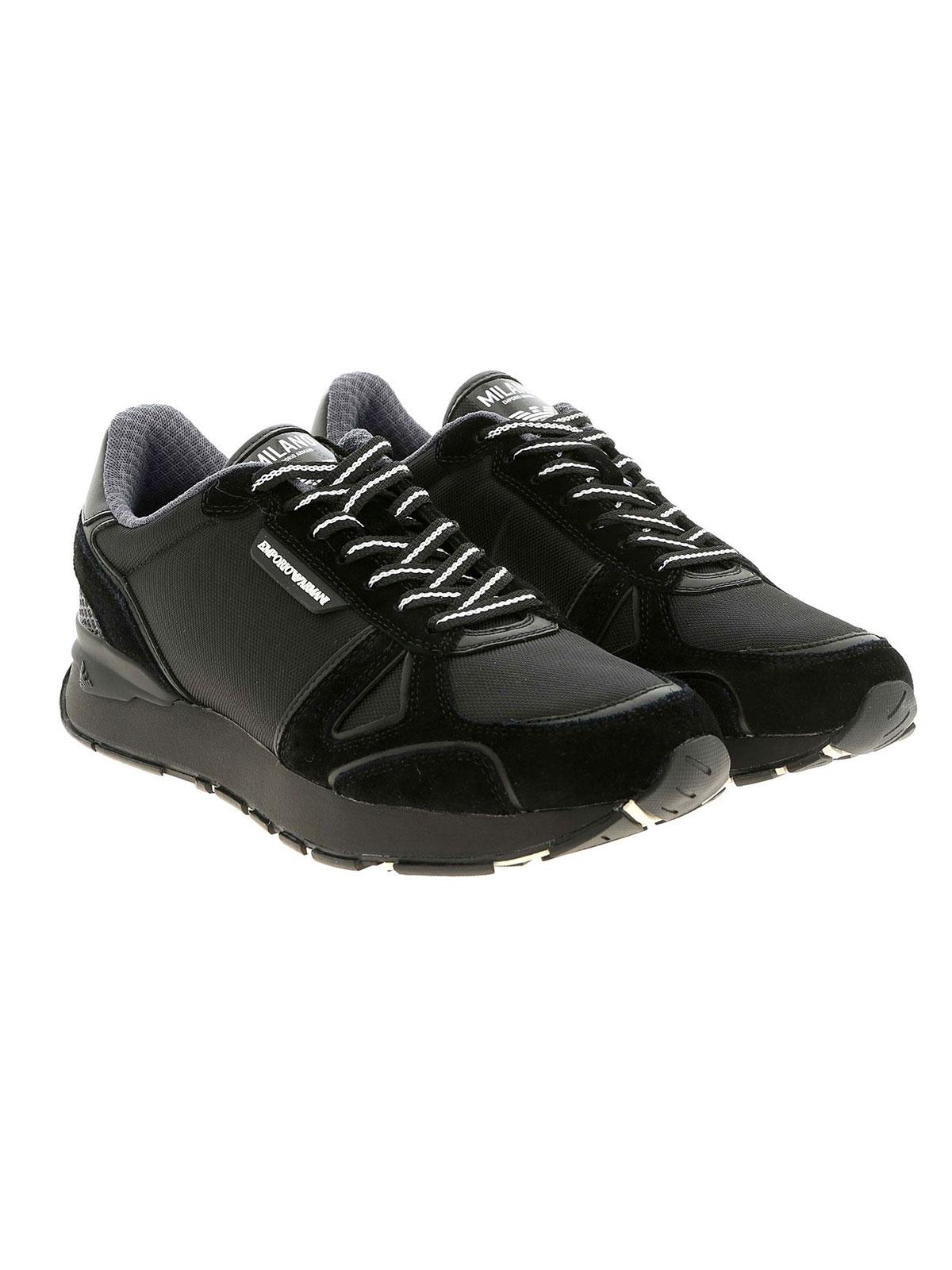 Immagine di EMPORIO ARMANI | Sneakers Uomo in Pelle Bicolor
