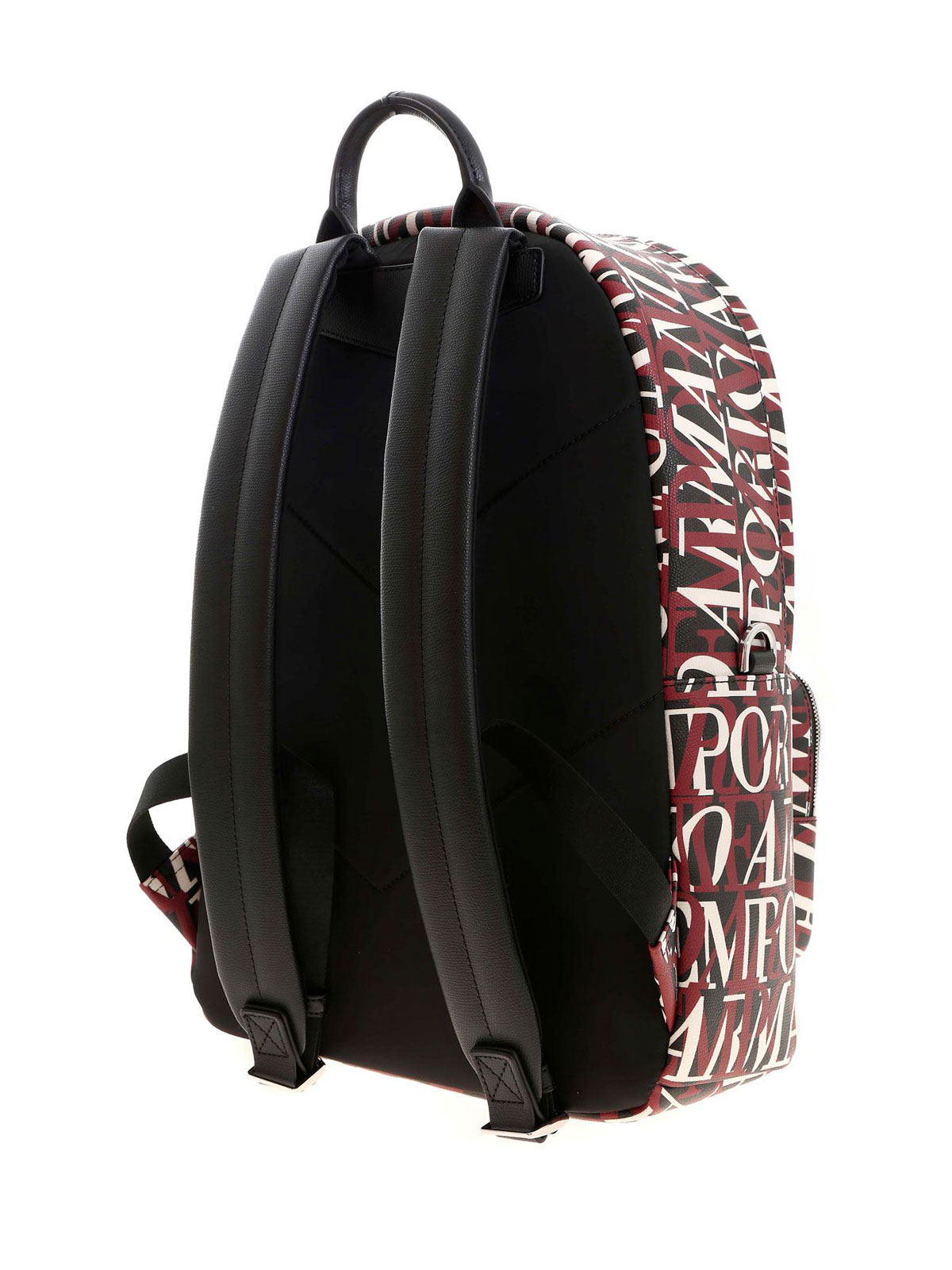 Picture of EMPORIO ARMANI | Contrasting Logo Backpack