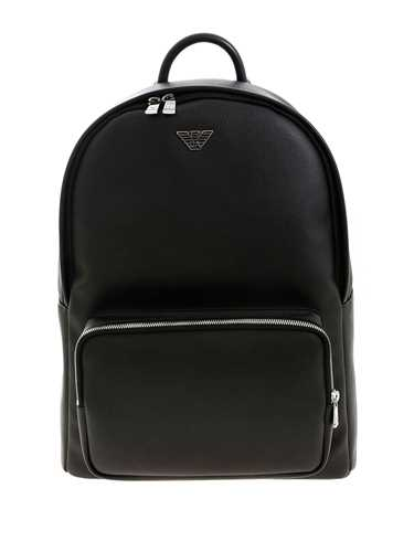 Picture of EMPORIO ARMANI | Metal Logo Pin Backpack