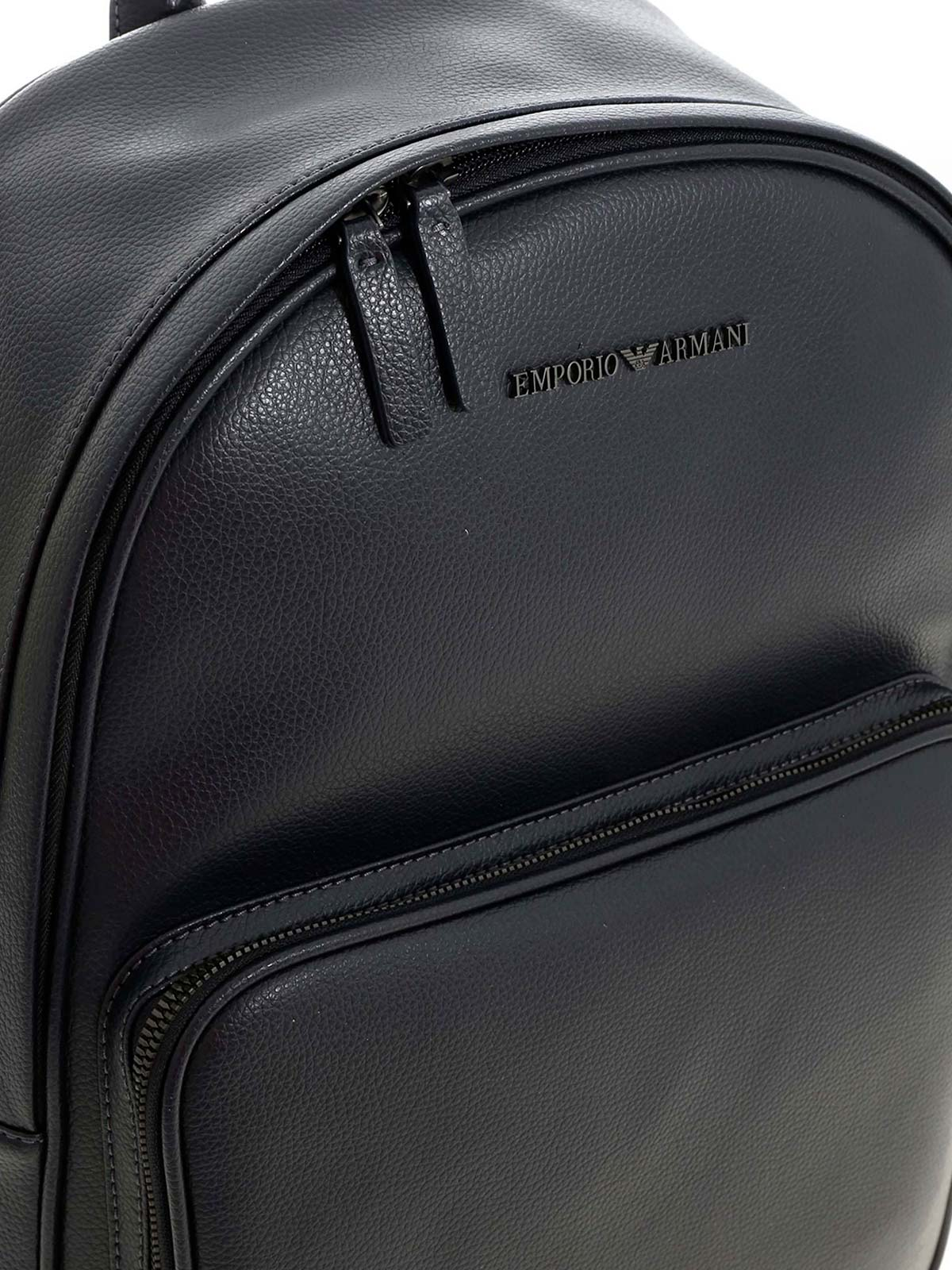 Picture of EMPORIO ARMANI | Hammered Leather Backpack