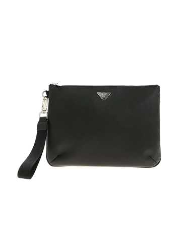 Picture of EMPORIO ARMANI | Men's Faux-Leahter Handbag