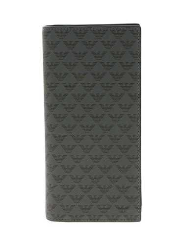 Picture of EMPORIO ARMANI | Men's Logo Pattern Maxi Wallet
