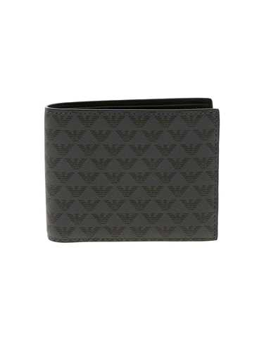 Picture of EMPORIO ARMANI | Men's Logo Pattern Wallet