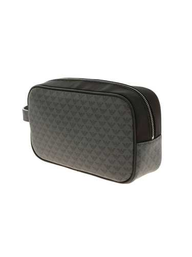 Picture of EMPORIO ARMANI | Men's Logo Pattern Beauty Case