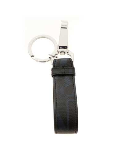 Picture of EMPORIO ARMANI | Men's Metal and PVC Keyring