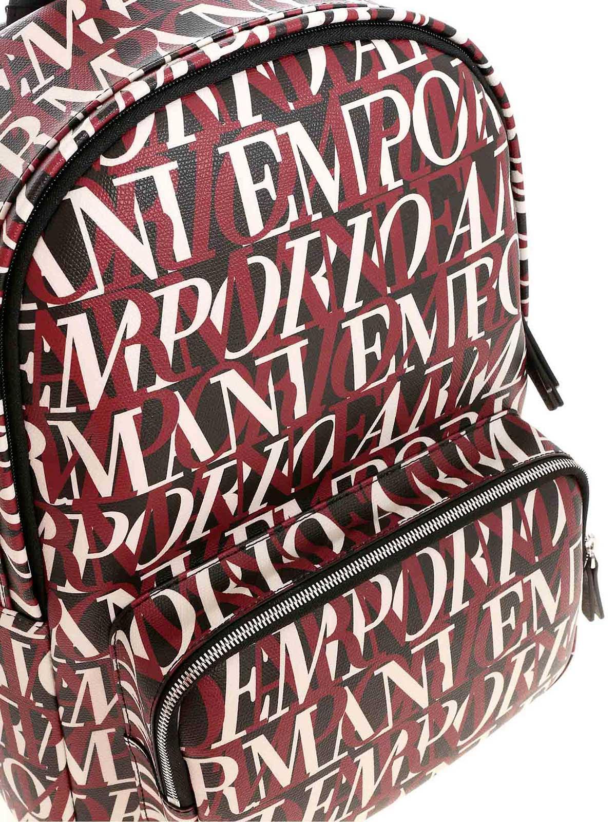 Immagine di EMPORIO ARMANI | Zaino con Logo a Contrasto