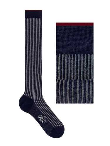 Picture of GALLO | Men's Wool Twin Rib Long Socks