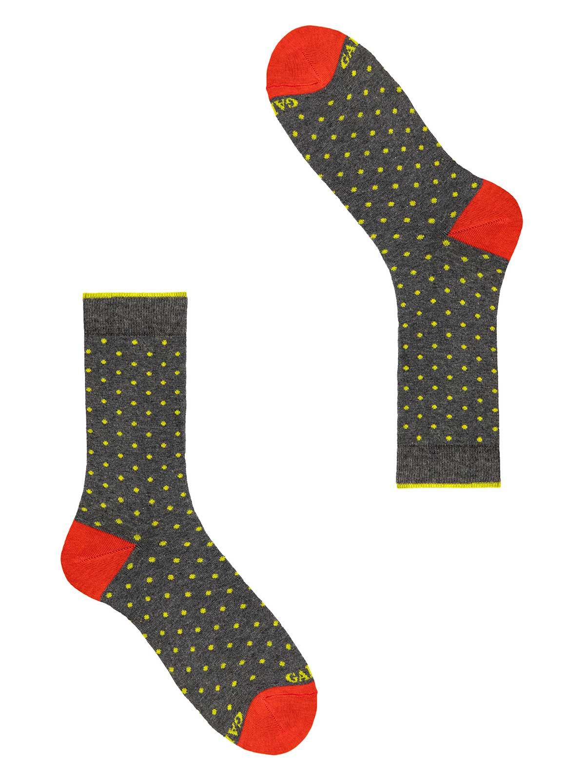Picture of GALLO   Men's Dotted Cotton Short Socks