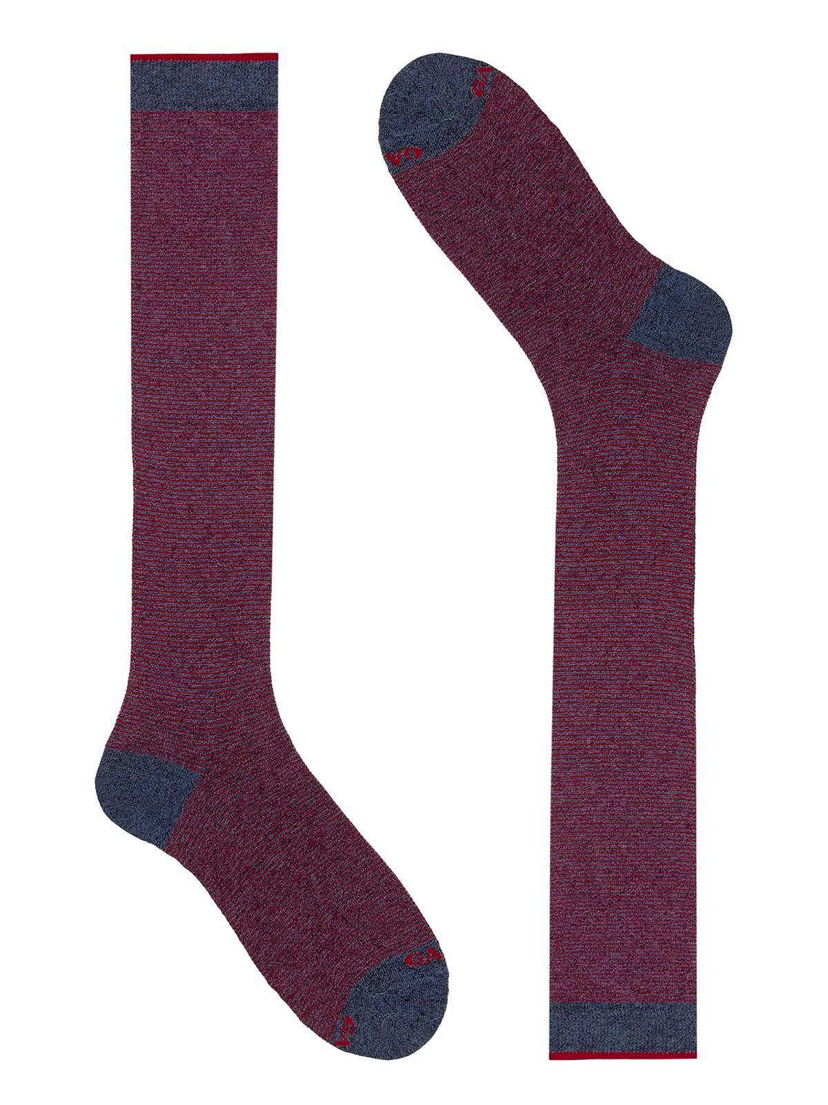 Picture of GALLO | Men's Micro Pattern Cotton Long Socks
