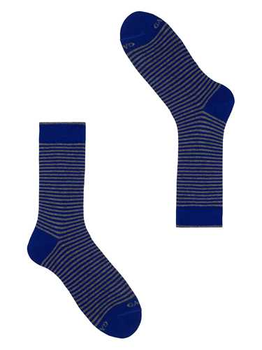 Picture of GALLO | Men's Striped Cotton Short Socks