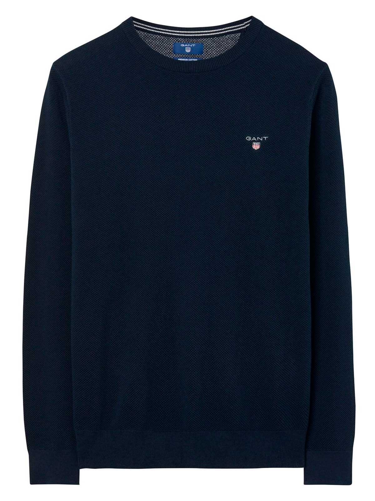 Picture of GANT | Men's Cotton Piqué Sweater