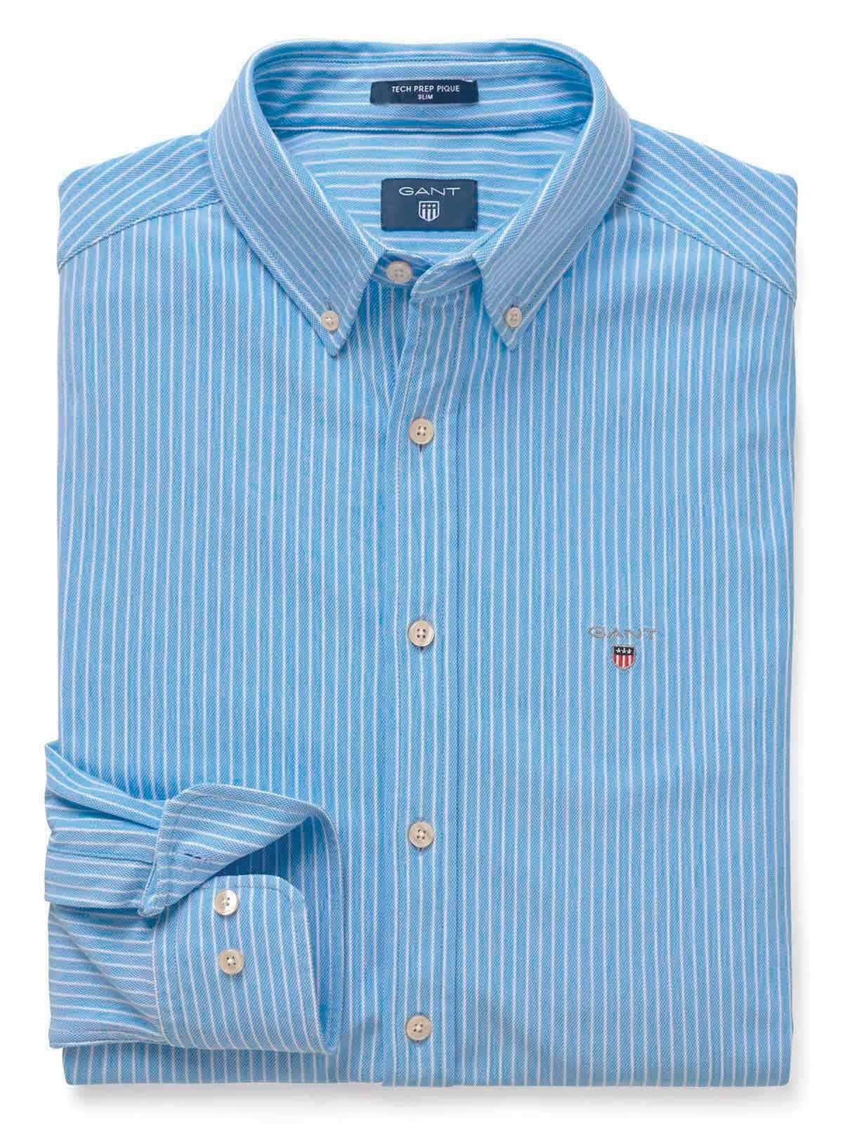 Picture of GANT   Men's Stripe Slim Shirt