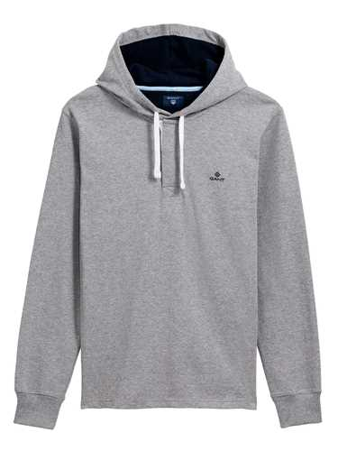 Picture of GANT | POLO O1. SOLID HEAVY RUGGER HOODIE