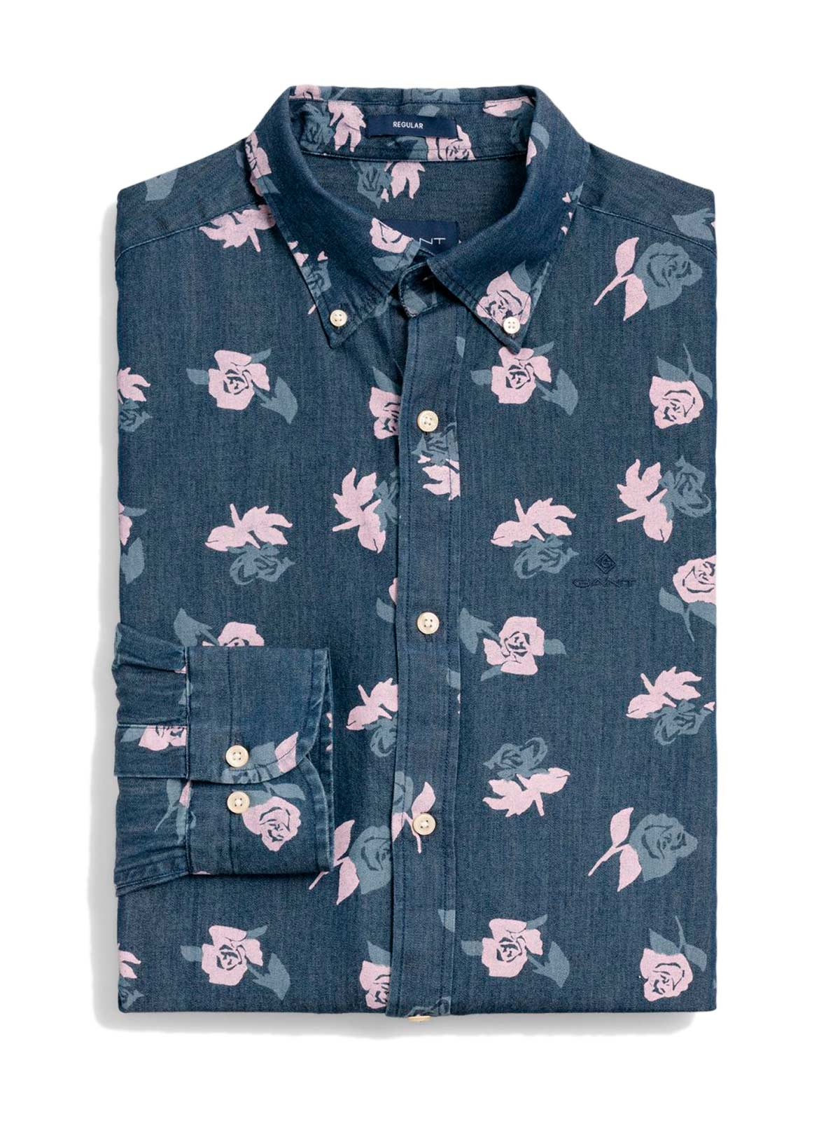 Picture of GANT | Camicie O1. ROSE CHAMBRAY REG LBD