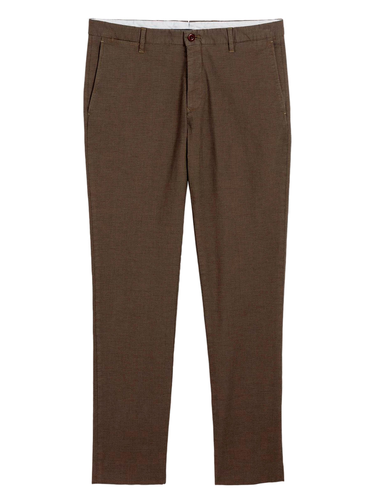 Picture of GANT | TROUSERS O1. THE SIGNATURE WEAVE SLACK