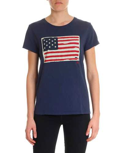 Picture of POLO RALPH LAUREN | Women's American Flag T-shirt