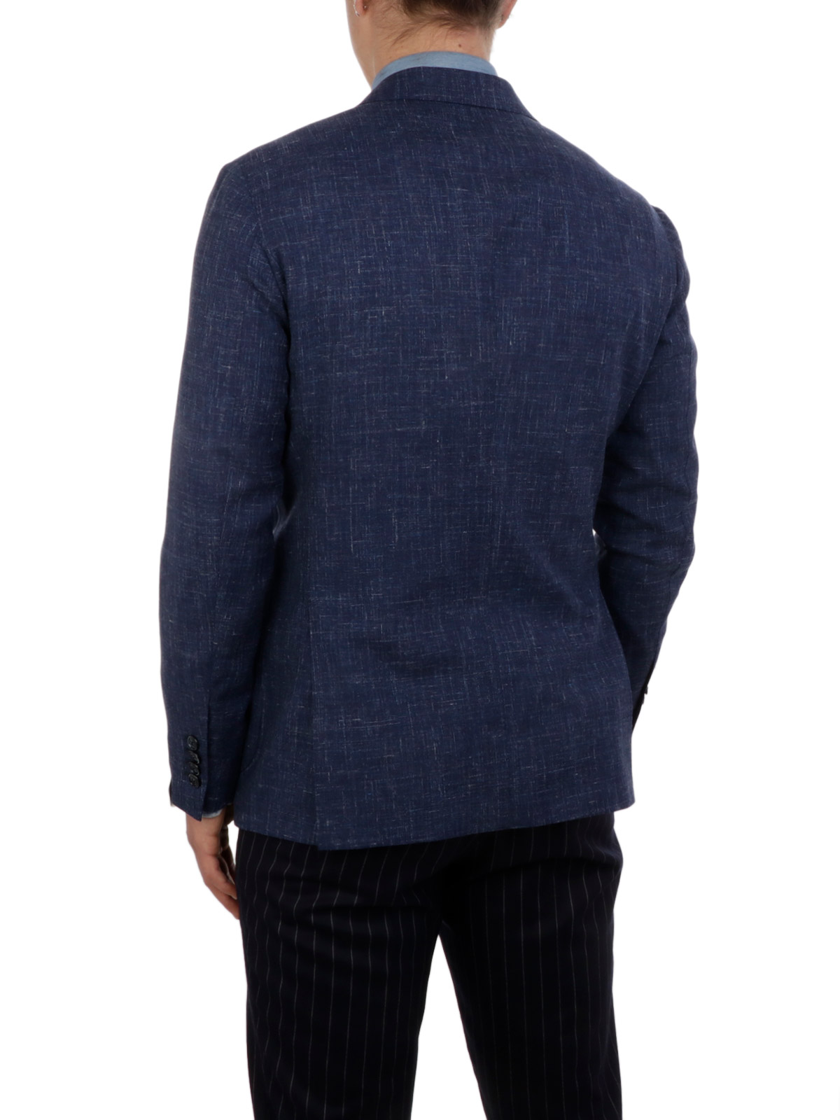 Picture of BARBA | Men's Wool and Linen Blazer