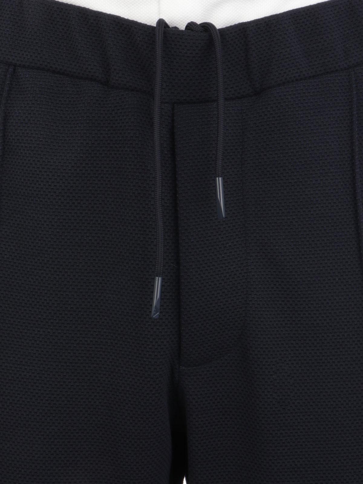 Picture of EMPORIO ARMANI | Men's Jersey Joggerpants