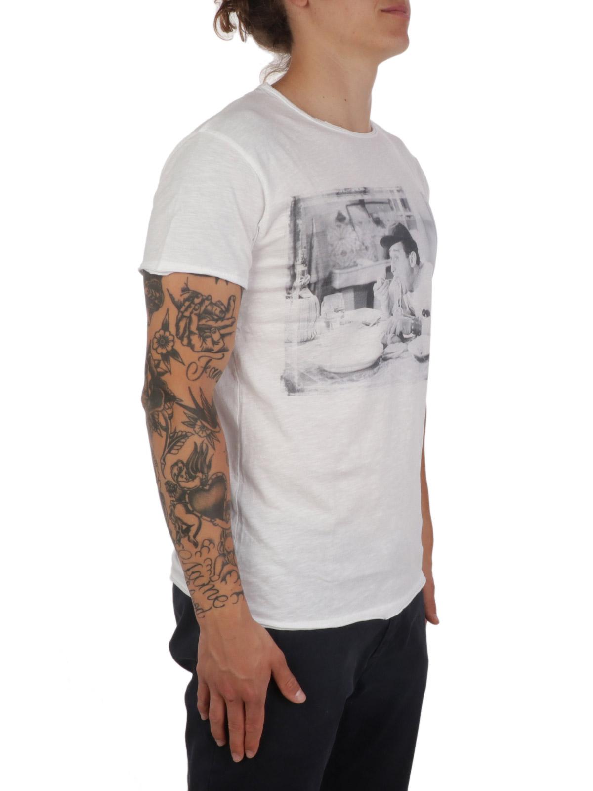 Picture of 1921 | Men's Alberto Sordi Pasta T-Shirt