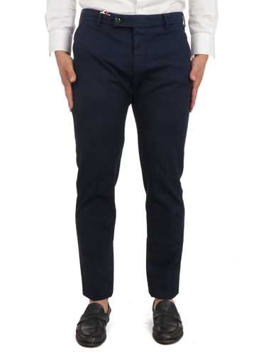 Picture of BERWICH | Men's Stretch Cotton Trousers
