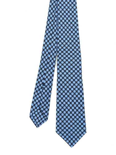 Picture of KITON | Printed Silk Tie