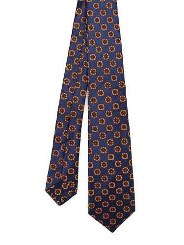 Picture of KITON   Flower Silk Tie