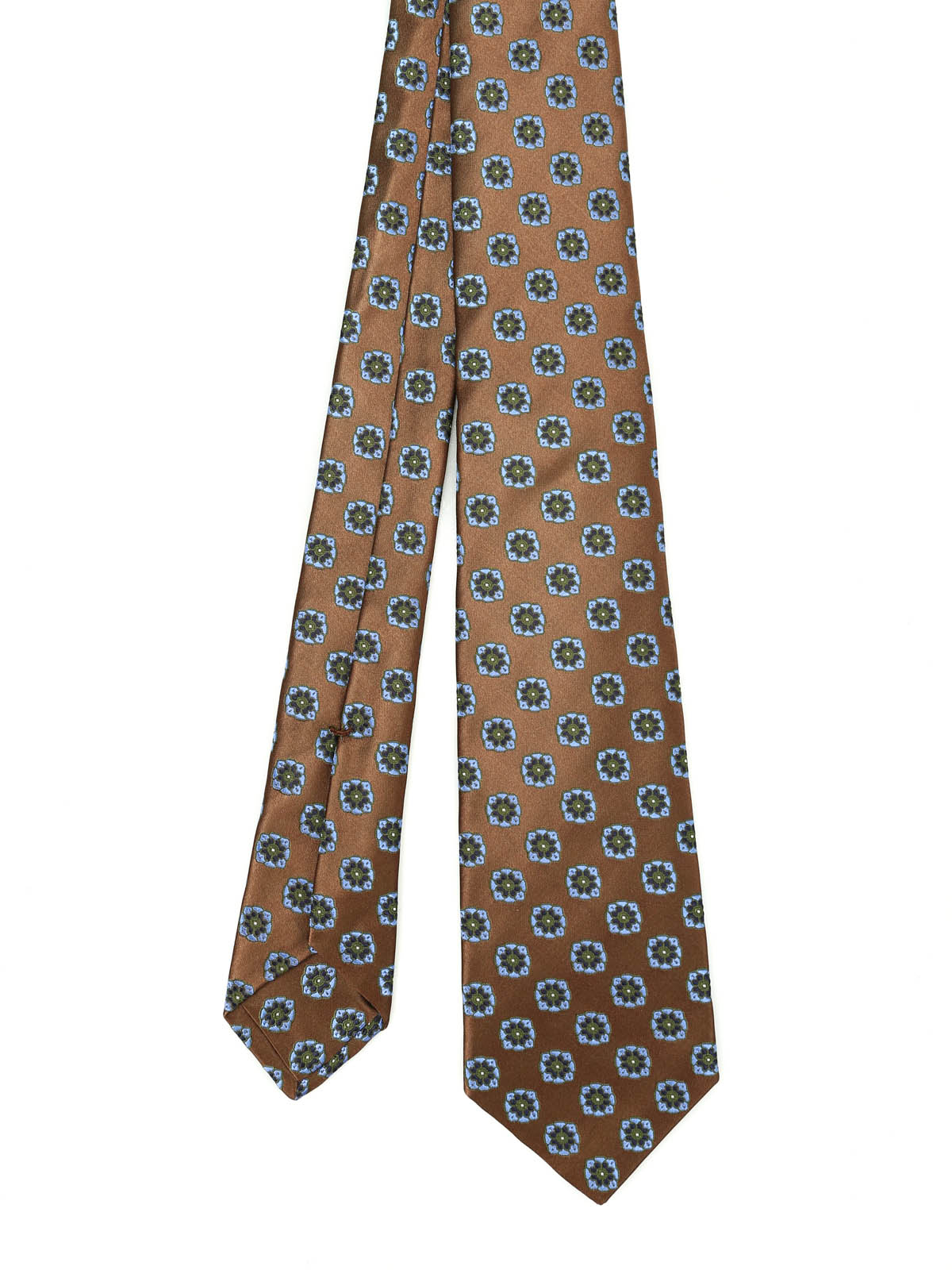 Picture of KITON | Flower Silk Tie