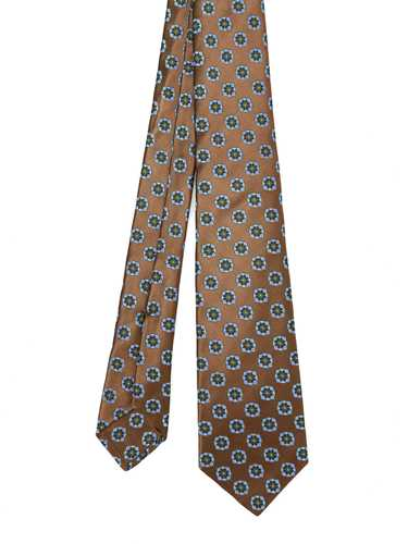 Picture of KITON | Flower Silk Tie